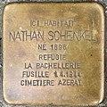 Stolpersteine Nathan Schenkel 6 rue de Barr Strasbourg.jpg