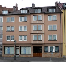 Wirsbergstraße in Würzburg