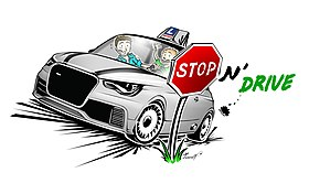logo de Stop N' Drive