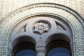 Stortinget 2011 window stone carving.jpg