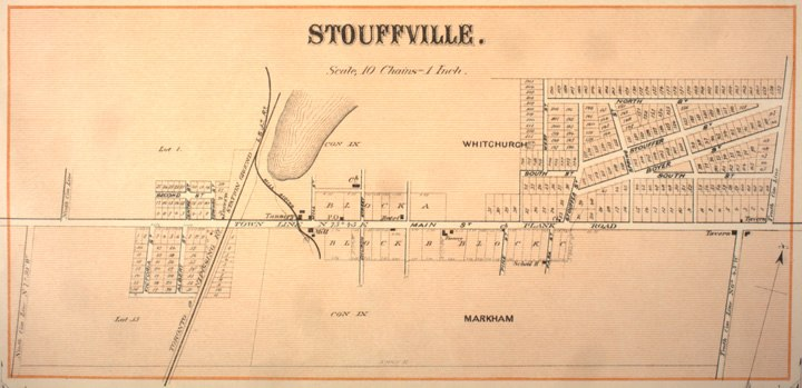 Stouffville Map 1880