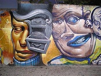 English: Street art