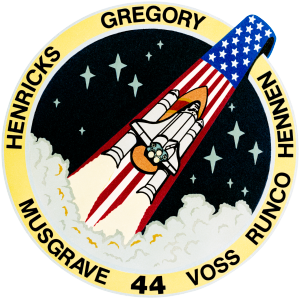 STS-44 - Image: Sts 44 patch