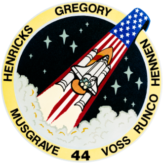 James S. Voss - Image: Sts 44 patch