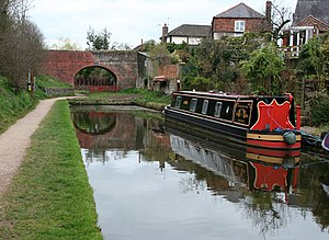 Whitchurch, Shropshire - Stub of the Whitchurch Arm of the Llangollen Canal - geograph.org.uk - 1231256
