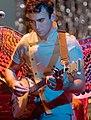 Sufjan Stevens playing banjo edit1 (cropped).jpg