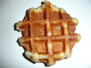 A sugar Waffle