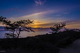 Sunset at Torrey Pines.JPG