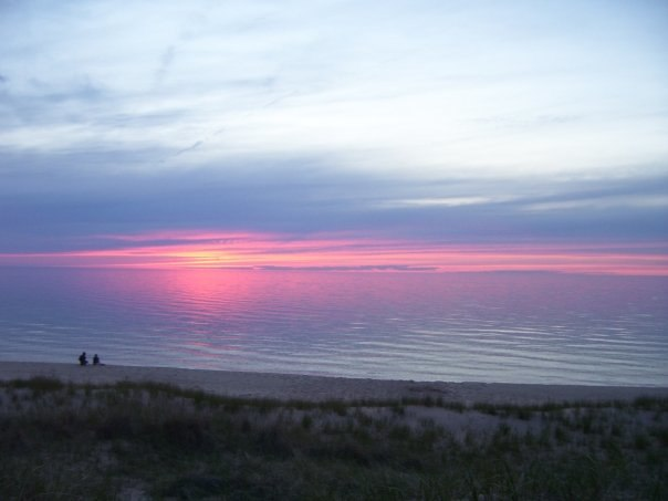 Sunset at nordhouse dunes