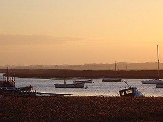 River Alde - The river at Aldeburgh