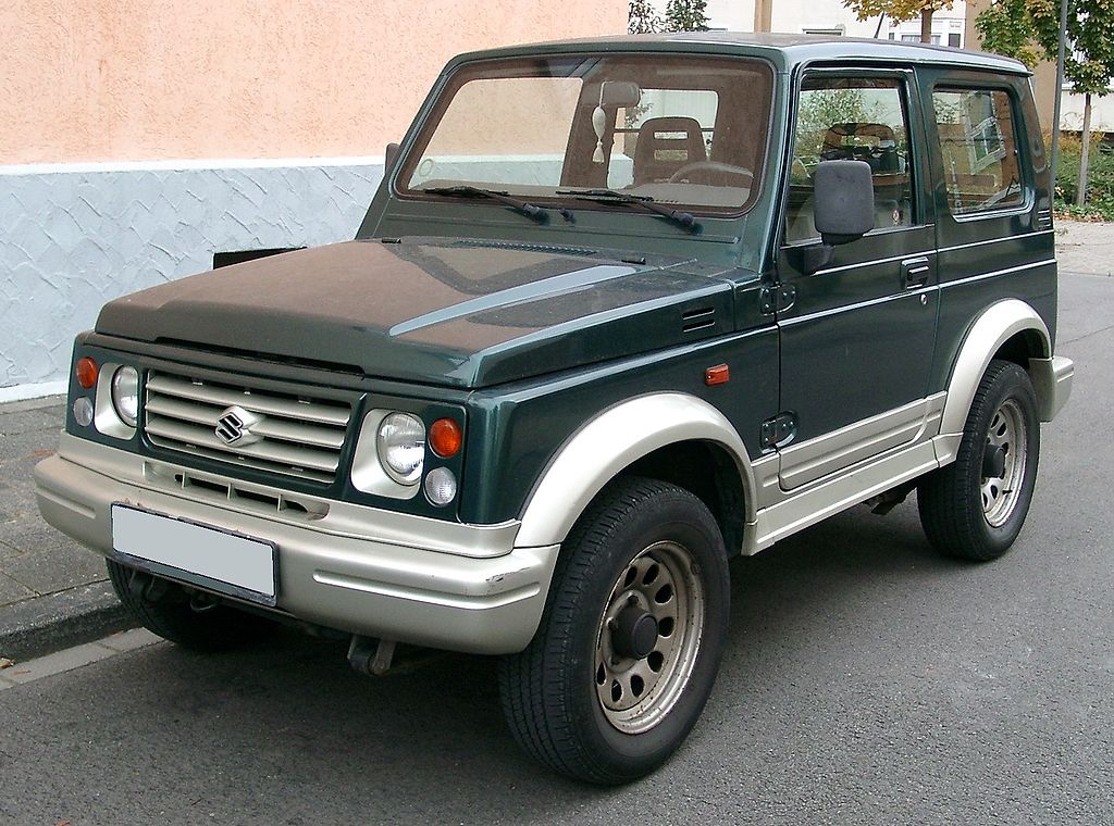 Suzuki Samurai Front Axle Width