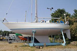 Swan 411 - Swan 411 Hull Shape
