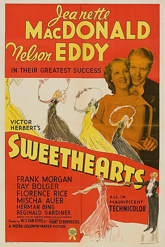 Sweethearts (1938 film) - Theatherical Poster