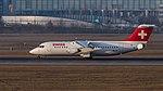 Swiss British Aerospace Avro 146-RJ100 HB-IYZ MUC 2015 02.jpg
