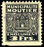 Switzerland Moutier 1945 revenue 2 3Fr - 15B.jpg