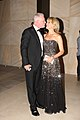Symon Brewis-Weston kisses his wife Sandra Sully 2012.jpg