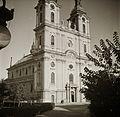 Szentháromság tér, Nagyboldogasszony Főszékesegyház. Fortepan 83804.jpg