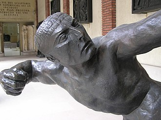 Hercules the Archer - Detail, Musée Antoine Bourdelle, Paris