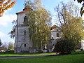Třeboradice, zvonice a kostel.jpg