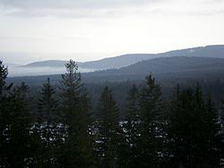 Třemošná, Malá Třemošná a Dubová hora.JPG