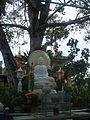 Tượng Phật tại Bồ đề đạo tràng Châu Đốc.jpg