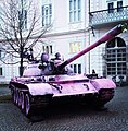T-55 in Tivoli Park painted pink.jpg
