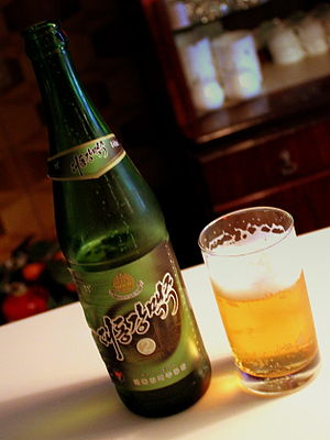 Taedonggang - A bottle of Taedonggang