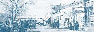 Taos Plaza - Image: TAOS PLAZ Aca 1907