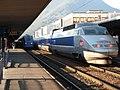 TGV-PSE Grenoble station october 2006.JPG