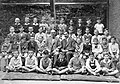 Tableau, class photo, teacher Fortepan 14074.jpg