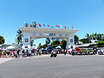 Tainan Air Force Base Main Gate 20130810.jpg