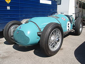 Photo de la Talbot-Lago T26C de Louis Rosier.