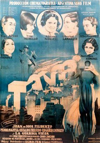 ¡Tango! - Poster for the film