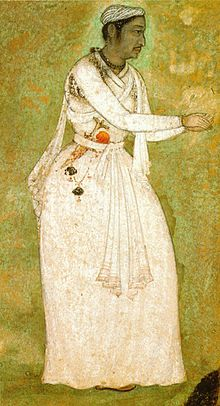 Tansen of Gwalior. (11.8x6.7cm) Mughal. 1585-90. National Museum, New Delhi..jpg