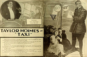 Taylor Holmes - Advertisement (1919)