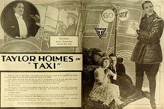 Taylor Holmes - Advertisement (1919)