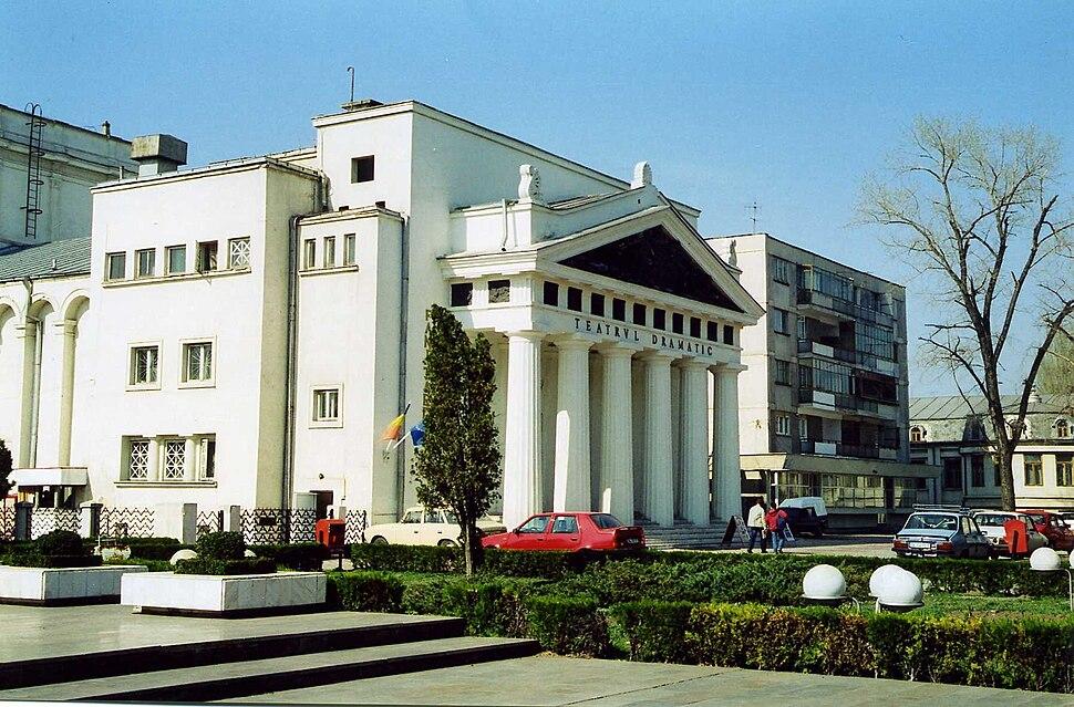 Teatrul Dramatic Galati, Romania march 2001