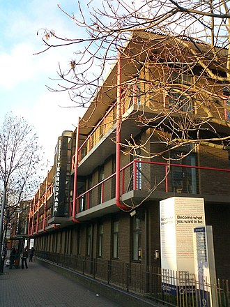 London Road, Southwark - Image: Technopark, London SE1
