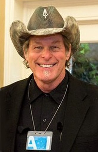 Ted Nugent - Nugent at the White House in April 2017