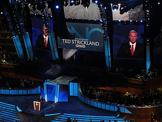 Ted Strickland - Strickland speaking at the 2008 Democratic National Convention