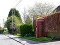 Telephone box, Dilton Marsh - geograph.org.uk - 1282970.jpg