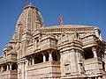 Temple inside Chittaurgarh fort.jpg