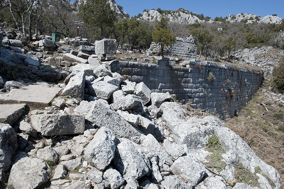 Termessos Upper city wall 3608