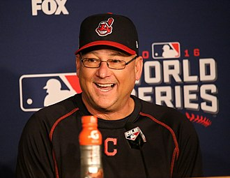 Terry Francona - Francona with the Cleveland Indians
