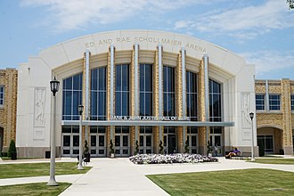 Schollmaier Arena - Image: Texas Christian University June 2017 83 (Ed and Rae Schollmaier Arena)
