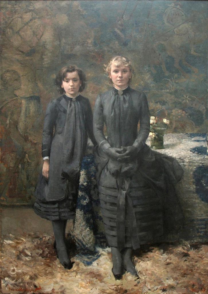 File th o van rysselberghe les soeurs du peintre - Les soeurs du marquis ...