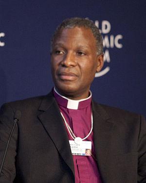 Thabo Makgoba - Makgoba at the 2012 World Economic Forum on Africa