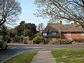 Thatched cottage on Rowner Lane, Gosport - geograph.org.uk - 385372.jpg