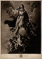 The Assumption of the Virgin Mary. Mezzotint by V. Green, 17 Wellcome V0034501.jpg
