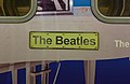 The Beatles plate on 508111 at Liverpool James Street station.jpg